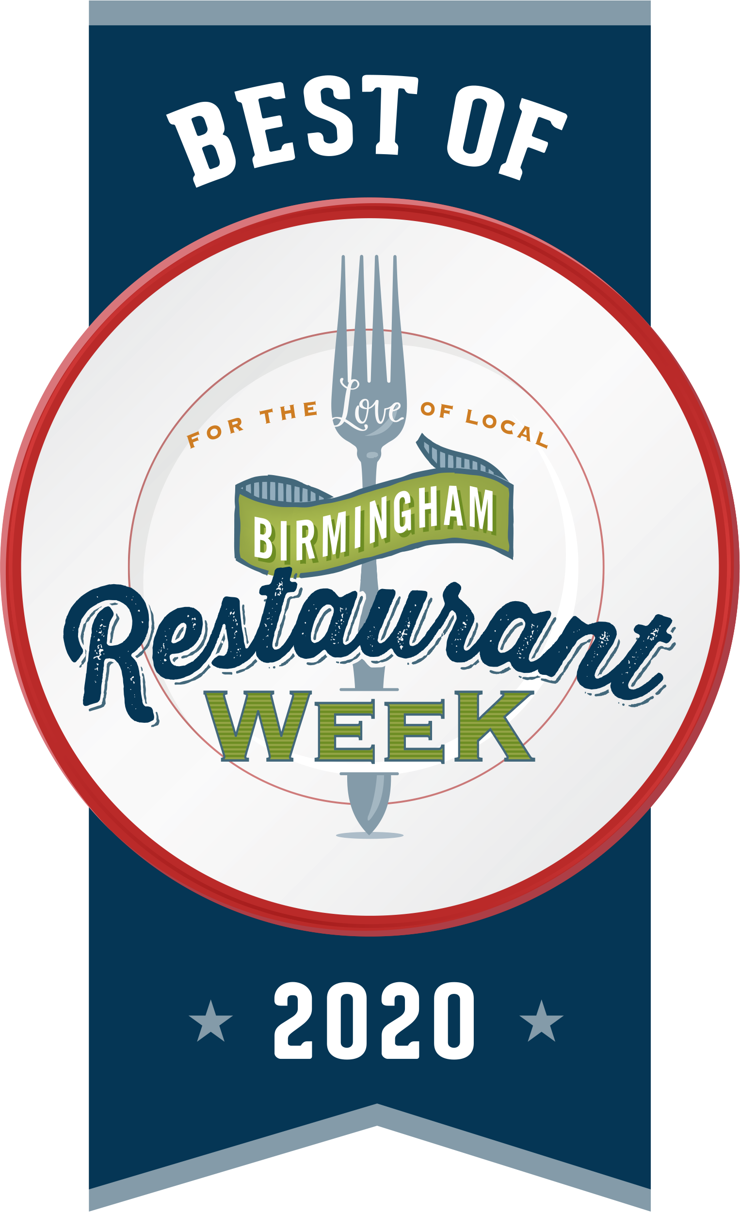 Best of Birmingham Restaurant Week 2020 banner