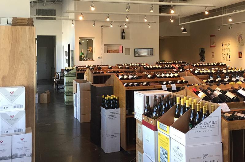 Classic Wine Company in-store picture